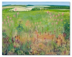 Wildflower Meadows - by Catherine Winget - oil on canvas art artist farmland fields meadows