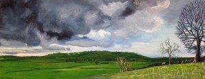 Oil landscape painting catherine Winget art