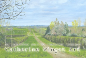 oil landscape painting commission