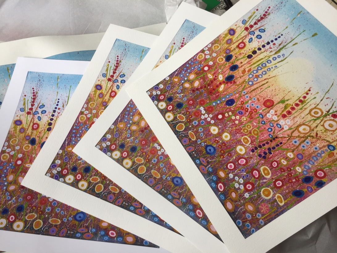 Catherine Winget Giclée art print of painting free giveaway