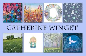 Catherine Winget art paintings prints greeting cards